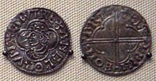 Coins of Cnut the Great.