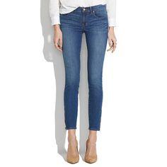 Madewell - Skinny Skinny Zip Jeans in Sky Wash