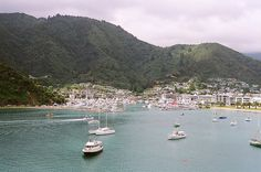 Picton - ferry runs from this cute port town to Wellington to connect the north and south islands!