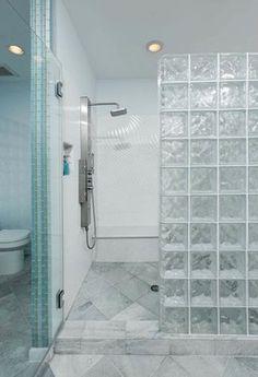 shower glass block walls | 40,101 glass block shower wall Home Design Photos