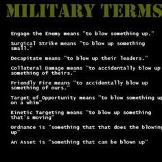 Combat engineers do it best lol