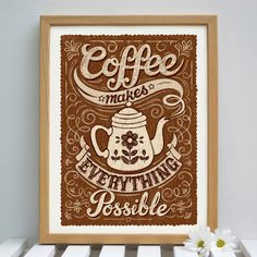 Coffee Lovers Print