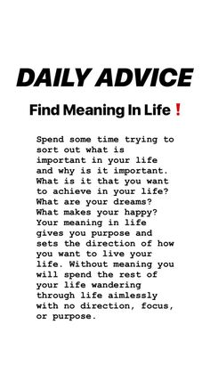 tips. What Makes You Happy, Are You Happy, Finding Meaning In Life, Wealth, Dreaming Of You, Meant To Be, Improve Yourself, Happiness, Advice