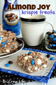 Almond joy krispie treats. Totally gift worthy, especially for a 'welcome to the neighborhood' gift.