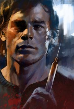 ART~ Dynamic And Dramatic ~ Sexter, Dexter Morgan~ The Secret Fantasy Of Many A Beating Heart~ AKA Michael C Hall.