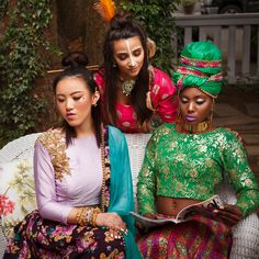 'One Love': How Fashion Weaves Ethnicities Together | browngirl Magazine - Insta @browngirlmag