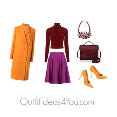 Have fun and wear what you love!  Jen Thoden                 Shop This Look      A L C red top ifchic.com    STELLA McCARTNEY coat farfetch.com    Oscar de la Renta skirt $590-theoutnet.com    Gianvito Rossi suede shoes therealreal.com    Loeffler Randall re