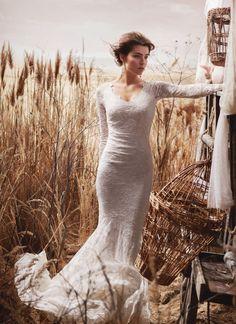 6c755037ba44 De 27 bedste billeder fra Vintage Lace  Romantiske brudekjoler i ...