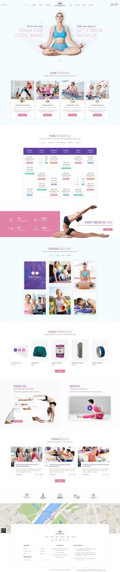 Hermosa is the exclusive #PSD template for all kinds of #Yoga, Fitness, #Wellness, Spa, Health and #Beauty center websites. Download Now!