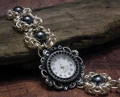 Image result for chainmail pocket watch chain