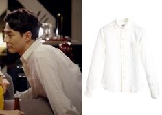 "Jo In-Sung 조인성 in ""It's Okay, That's Love"" Episode 4. CP Company 82S1371 Patch Pocket Shirt  #Kdrama #ItsOkayThatsLove 괜찮아, 사랑이야 #JoInSung"