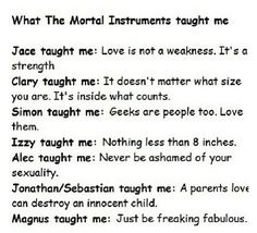 mortal instruments alec lightwood, funny, jace herondale, love, the mortal instruments . Mortal Instruments Funny, Shadowhunters The Mortal Instruments, Immortal Instruments, Shadowhunters Malec, Clace, Serie Got, Jace Lightwood, Cassandra Clare Books, Up Book