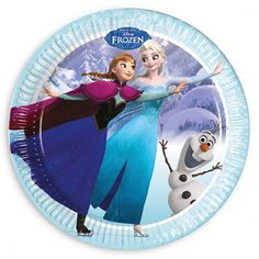 Platos de cumpleaños Frozen