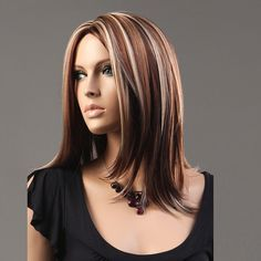 On the page You see beautiful pictures on the theme: funky hair color highlights. These pictures can be ideas in...