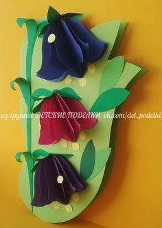 ДЕТСКИЕ ПОДЕЛКИ Mothers Day Presents, Mothers Day Crafts, Easter Crafts For Kids, Burlap Flowers, Diy Flowers, Paper Flowers, Classroom Crafts, Preschool Crafts, Paper Roll Crafts