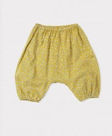 SS'16 Parsley baby Trouser, Olive Small Flower, Caramel Baby & Child.