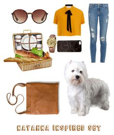"""Picnic with BooBoo"" by daileigh-campbell ❤ liked on Polyvore featuring Zero Gravity, Frame, Elvi, MANGO and Merona"