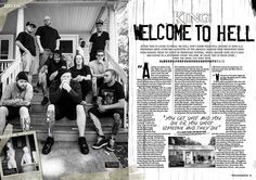MHR260 King 810 feature from 2014 for Metal Hammer Magazine in the UK. With photographer Travis Shinn.