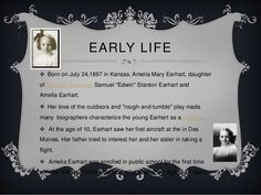 نتيجة بحث الصور عن rare pictures of amelia earhart family Amelia Earhart, Rare Pictures, Love Her, English, Activities, Life, English Language