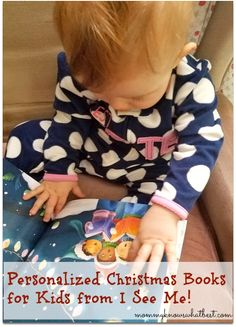 Personalized Christmas Books for Kids from I See Me! #ISeeMe Review