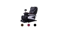 Electric Full Body Shiatsu Massage Chair Recliner with Heat Stretched Foot Rest 06C for $639.99 at eBay