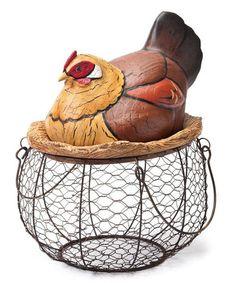 Love this Chicken Basket on #zulily! #zulilyfinds