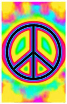 Peace & tye dye.