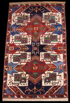 Shikli Kazak rug, Star Kazak rug