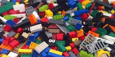 Lego pile, photo by Justin Grimes