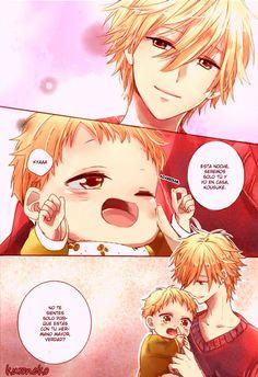 Hoshikuzu Gakuen C Course Manga Boy, Manga Anime, Anime Pregnant, Anime Dad, Mpreg Anime, Hakkenden, Anime Family, Manga Couple, Manhwa Manga