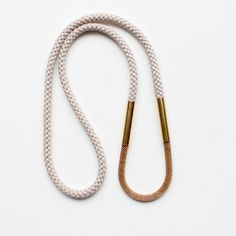 rope & mesh necklace ++ the vamoose
