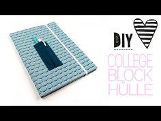DIY ♥ Collegeblock Hülle nähen   DIY MODEDIY MODE