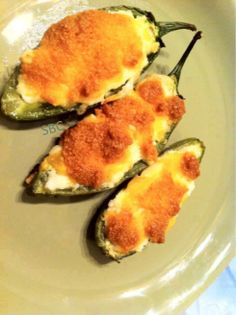CRUNCHY (BAKED) LOW CARB JALAPENO PEPPERS