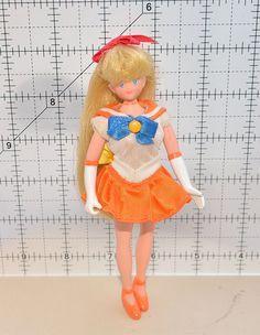 """Sailor Venus Sailor Moon action figure 6"""" adventure doll #Irwin"""