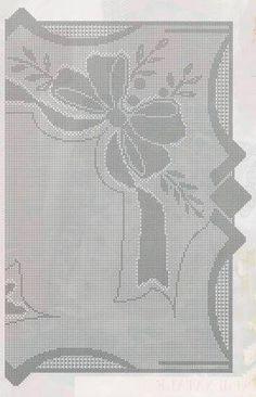 y Filet Crochet, Thread Crochet, Crochet Tablecloth, Crochet Doilies, Crochet Bolero Pattern, Graph Design, Chrochet, Crochet Clothes, Crochet Projects