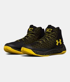 Men's UA Curry 3ZER0 Basketball Shoes, Black