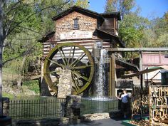 Dollywood grist mill, Pigeon Forge, Tn.