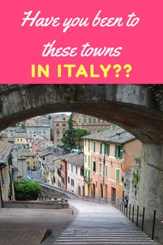 Small towns in Italy: There are so many quaint and charming towns in Italy that the list is endless. These 10 will surely give you a kick of Italian wanderlust! #Italy #travel