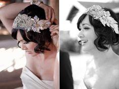 El blog de Paz Ortega: Peinados de novia 2012 (IV): Novias con pelo corto