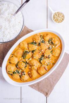 Klopsiki w sosie curry - Poezja smaku