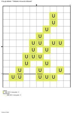 alfabeto minuscolo stilizzato: K