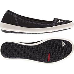 6c51aa78764 Adidas Women s Boat Slip-On Sleek Water Shoes - Black  Chalk  Dark Shale