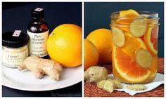 Aroma #4: laranja, gengibre (fresco ou em pó) e extrato de amêndoas. Este é um aroma deliciosamente doce.