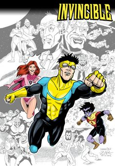 Invincible Pin-up for Aleta Ediciones #100 talent contest