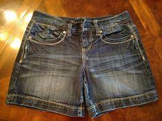 c5d27e4e96 Maurices Women's Denim Shorts Size 3/4 #fashion #clothing #shoes  #accessories #womensclothing #shorts (ebay link)