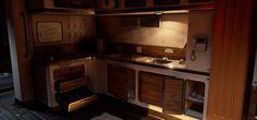 ArtStation - Environment - Scifi Bunk Room (UE4), Liam Tart
