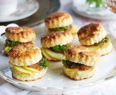 Ploughman's scones