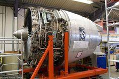 Rolls-Royce Jet Engine.