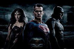 Batman Vs Superman - Trio - Official Poster @ niftywarehouse.com #NiftyWarehouse #DC #Comics #ComicBooks #WonderWoman #SuperHeroes