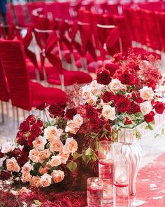 A wonderful wedding at Weylin that was full of red florals is fitting for this week of love! An extraordinary event to be a part of! As you walked into the ceremony, you were encompassed with the divine scent of roses. No matter what direction you looked, Intimate Wedding Reception, Small Intimate Wedding, Wedding Reception Decorations, Table Decorations, Red Wedding, Luxury Wedding, Summer Wedding, Wedding Day, Valentines Day Weddings